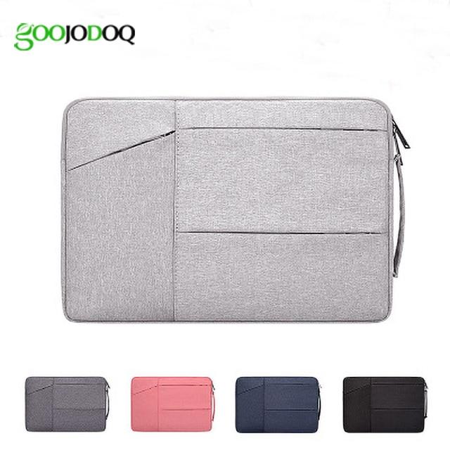Laptop Bag 14 13 15 inch case Notebook Pouch for Macbook Air 13 Laptop Sleeve Portable Briefcase 15.6 Handbag Bag for Tablet