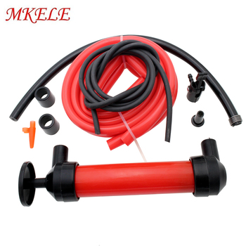 Portable Manual Oil Pump Tube Car Hose Liquid Gas Transfer Sucker Suction Oil Change Hand Syringe Fuel Extractor Vacuum Pump