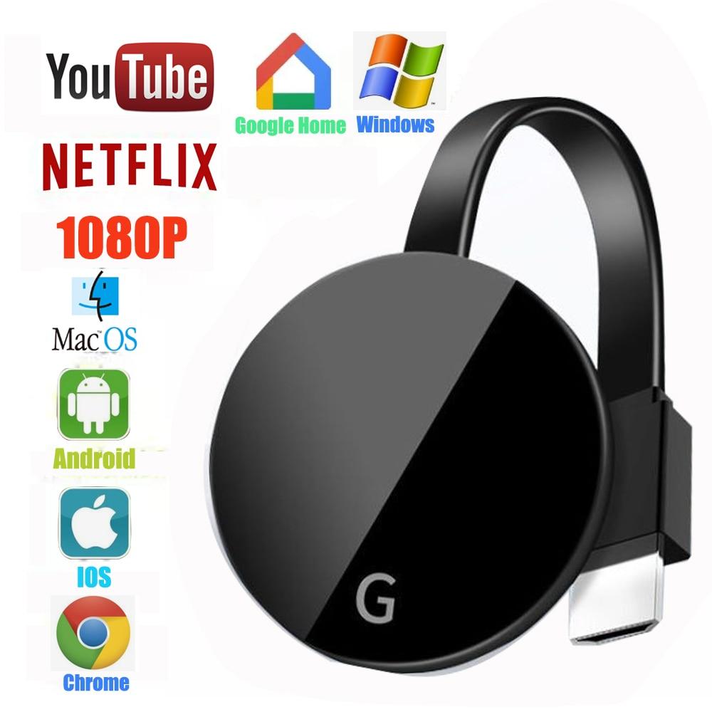 Беспроводной Wi-Fi HDMI дисплей 4K Tv Stick для Chromecast 3 2 Miracast Airplay DLNA Dongle Anycast для Google Home Chrome