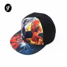 2019 New Super Hero Cartoon Casquette Baseball Caps Ki Hats Boy Girl Hip Hop Hat K-pop Hats Snapback Caps Bone Streetwear