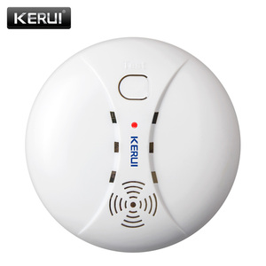 KERUI Wireless Fire Protection Smoke Detector Portable Alarm Sensors For Home Security Alarm System In Our Store(China)