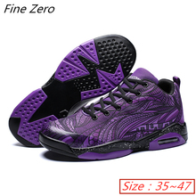 Unisex High-top Anti-skid Breathable Basketball Shoes Men's