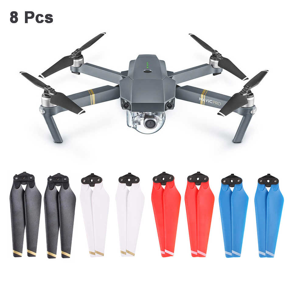 8pcs Propeller For Dji Mavic Pro Drone Quick Release Props Folding Propellers 8330 Replacement Spare Parts Dji Mavic Accessories Propeller Aliexpress
