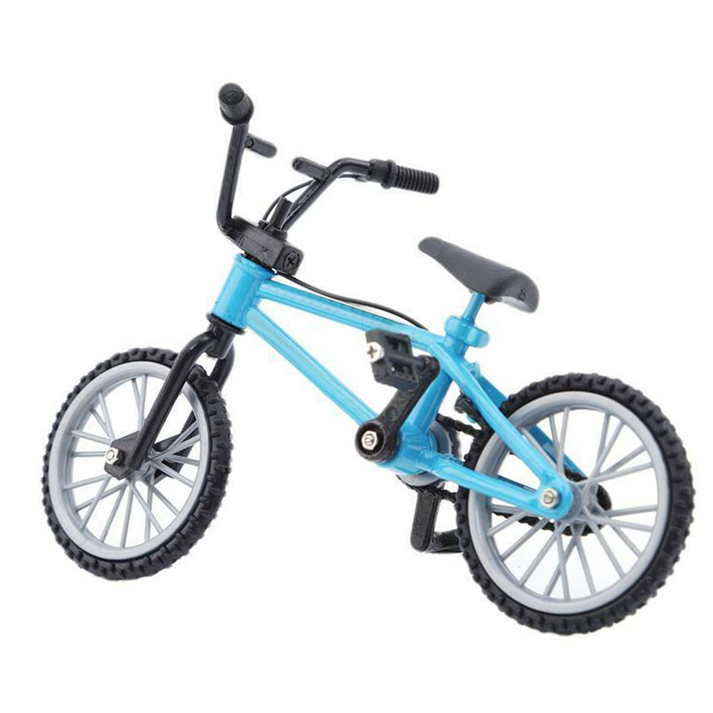 Home Decoration 1/10 Adult Collection Kids Toys Finger BMX Movable Wheel <font><b>Mini</b></font> <font><b>Bike</b></font> Model Mountain Bicycle Children Gift Alloy image