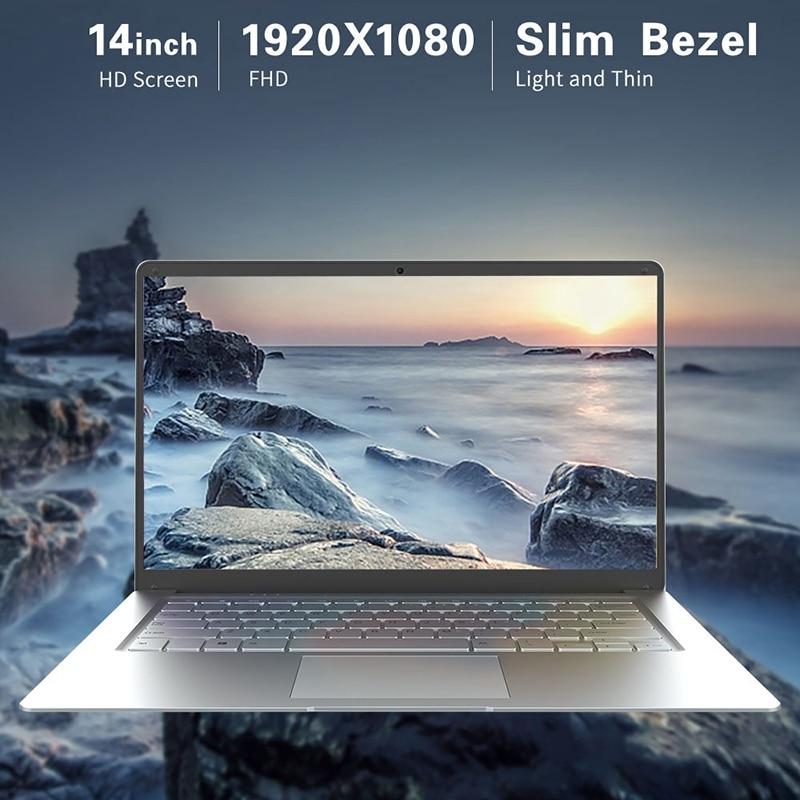 Jumper EZbook A5 14 Inch Laptop 1080P FHD Intel Cherry Trail Z8350 Quad Core Notebook 1.44GHz Windows 10 4GB LPDDR3 64GB EMMC EU