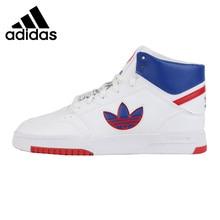 สินค้าใหม่มาใหม่ Adidas Originals DROP STEP XL ผู้ชายสเก็ตบอร์ดรองเท้ารองเท้าผ้าใบ