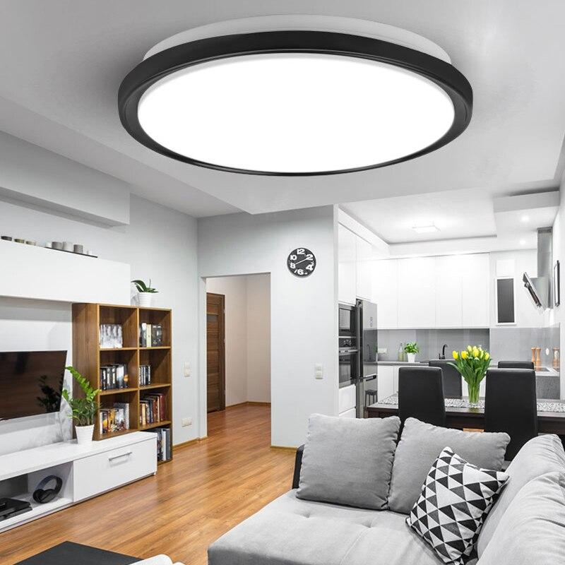 Modern LED Ceiling Lights Lighting Round 16W 15W 20W 30W 50W 220V Led Ceiling Lamp Light For Home Bedroom Bathroom Living Room