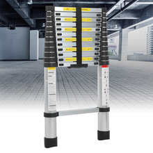 Telescopic-Ladder Aluminum-Alloy Folding for Multi-Purpose Heavy-Duty