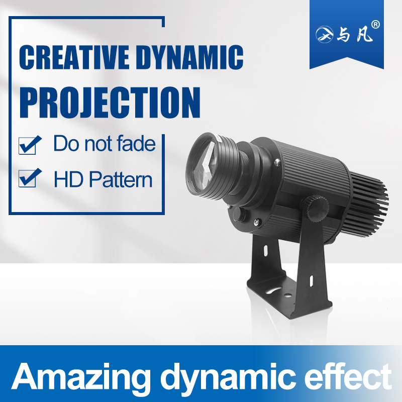 Dashing 100w High Power Light Projector Dynamic Gobo Projector Outdoor Christmas Holiday Decoration Indoor Attractive Designs;