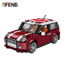 цена на LOZ Mini Blocks Technic Car Building Blocks Creator figure diamond  Bricks Assembly Toys for Children Educational Gifts DIY 1111