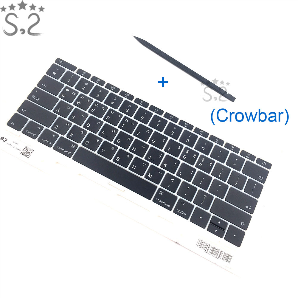 Free Shipping A1708 Keycap For Macbook Pro Retina 13 A1708 Korea KR Keyboard Key Cap 2016 2017 image
