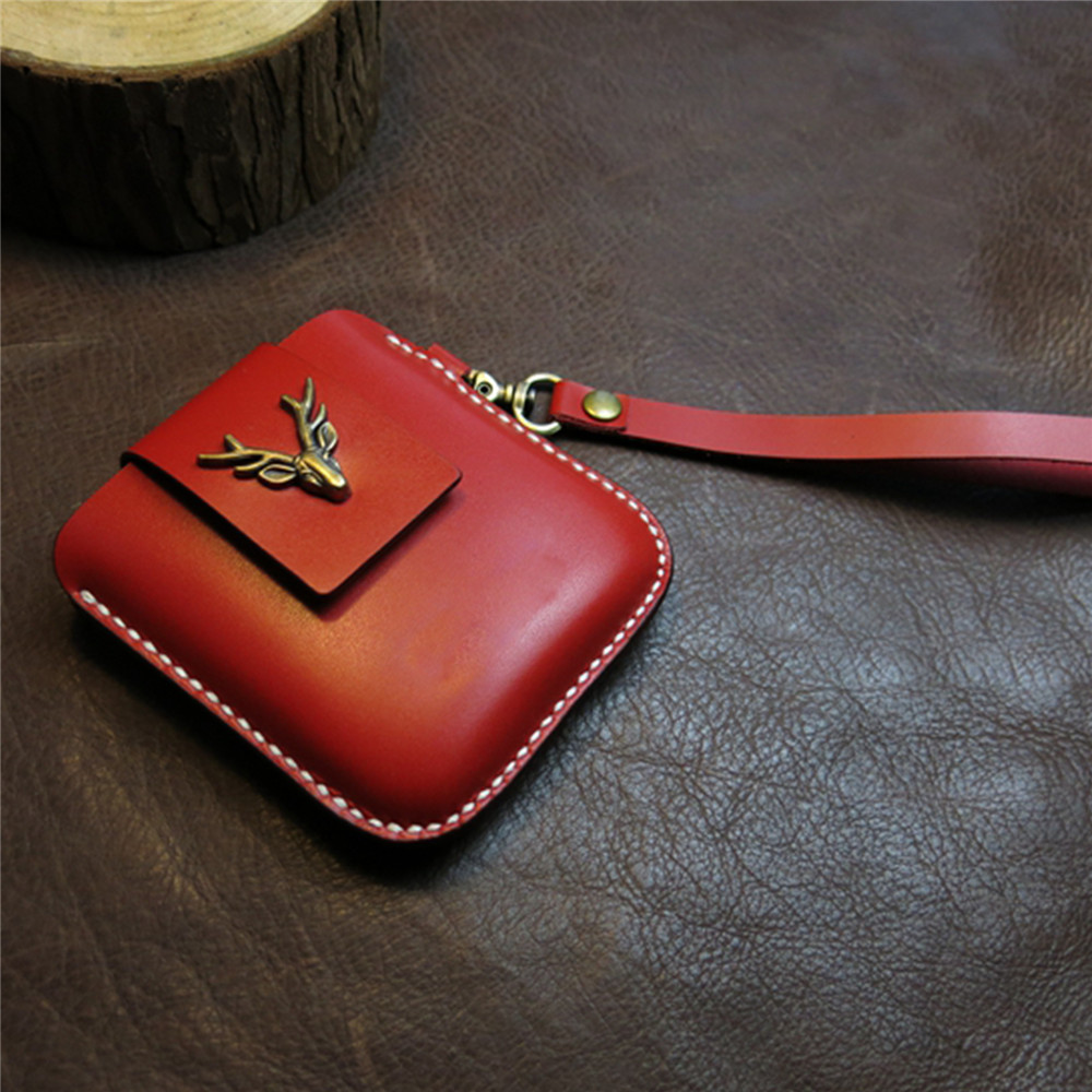 Soft Leather Phone Storage Bag Shockproof Protective Case Cover for Samsung Galaxy Z Flip Phone Accessories
