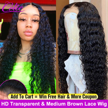 Celie HD Lace Frontal Wig Deep Wave Wig 360 Lace Frontal Wig Long 28 30 Inch Lace Front Wig 250 Density Curly Lace Front Wig