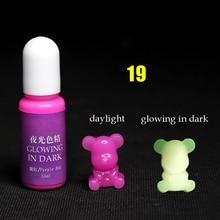 Светящийся в темноте эпоксидный пигмент высокой концентрации DIY Плесень делая аксессуары GQ999
