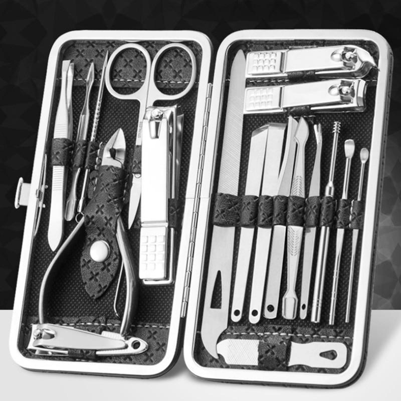 clippers de unhas manicure ferramenta pedicure prego tesoura 16 19