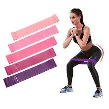 Спортивные Эспандеры для йоги, комплект эластичных лент для пилатеса, фитнеса, занятий спортом