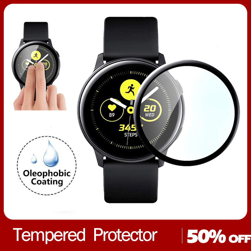 3D Full Cover Tempered Glass For Samsung Active 2 40mm 44mm  Glass Screen Protector For Active 2