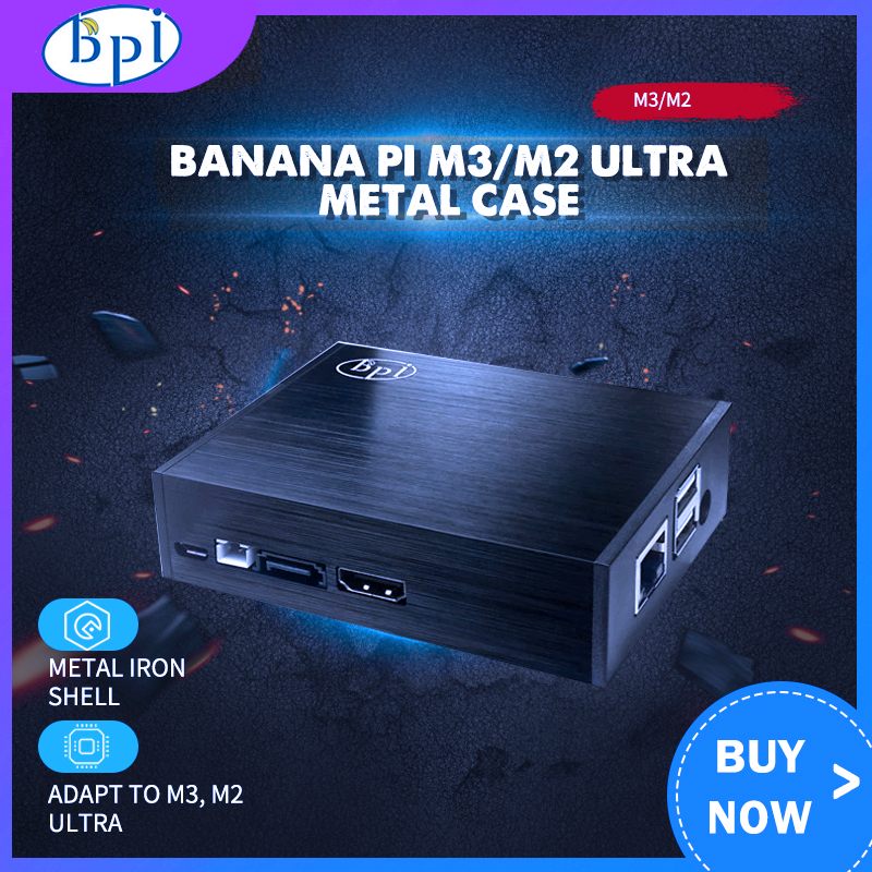Banana PI M3 / M2 Ultra Metal Case Shell Only Applicable To Banana Pi M3 / M2 Ultra