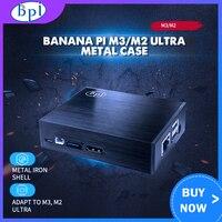Banana pi m3/m2 ultra metal caso escudo só aplicável a banana pi m3/m2 ultra
