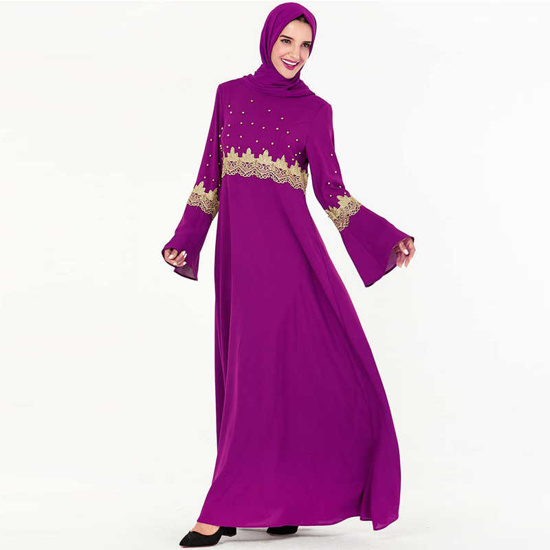 العباءة دبي التركية الحجاب بنت ثوب القفطان الملابس الإسلامية للنساء القفطان Omani الإسلام اللباس العبايات جميلة رداء Kleding