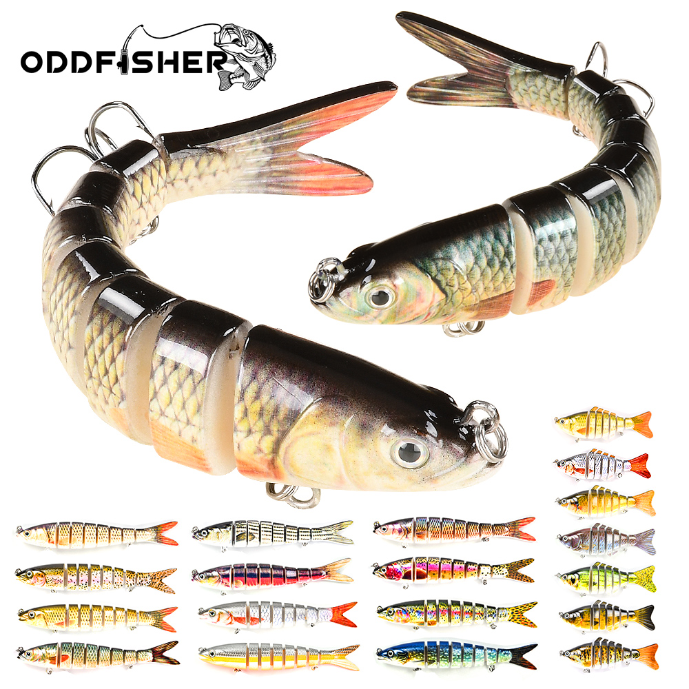 Multi Jointed Lure Fishing Swimbait Wobbler For Pike Saltwater Sinking 7 8 10 Segments Robobait Crankbait Trout Hard Bait Bass|Fishing Lures| - AliExpress