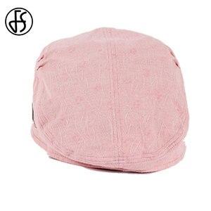 Image 5 - FS Fashion Cotton Sun Hat For Women Summer Outdoor Foldable Beach Hats Blue Pink Dark Gray Wide Brim Casual Visor Caps Femme