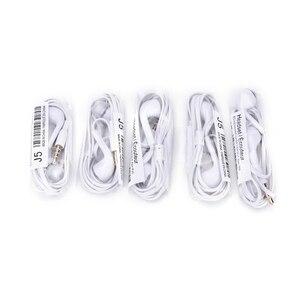 Image 4 - 5pcs ב אוזן מחבר אוזניות 3.3FT Wired אוזניות עם מיקרופון רעש ביטול אוזניות עבור Xiaomi עבור Samsung Mp3/Mp4