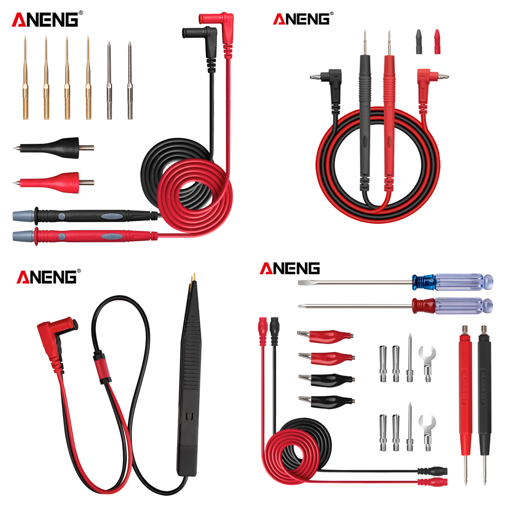 ANENG Multi-function Combination Test Cable Banana Jack Universal Meter Test Line  Multimeter Table Pen