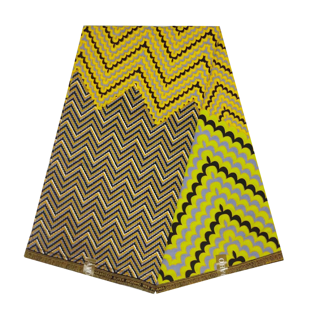 Ankara African Wax Print Fabric Dutch Holland Guaranteed Veritable Real Wax 100% Cotton Ghana Fabrics For Suits Blouses Sewing