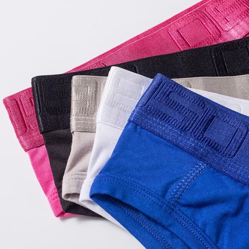 BS 85 Men's Underpants U-Type Modale Low Waist Triangle Pants Men's Underpants Sexy Breathable Pants BS3521 Bag 1