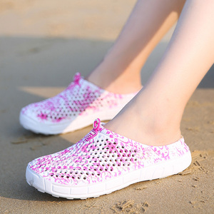 Image 5 - Summer Womens Sandals Quick Dry Beach Clogs Water Shoes Breathable Home Anti Slip Slippers