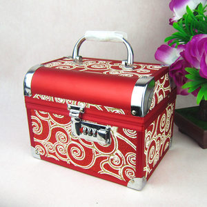 Image 1 - Jewelry Box High grade Metal 2020 New with High Quality Lock for Wedding Souvenir