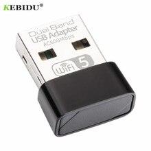 KEBIDU Adapter USB WiFi 600 mb/s Wifi antena PC karta sieciowa dwuzakresowy 2.4 + 5.8Ghz usb Lan Ethernet odbiornik Realtek RTL8811
