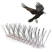 Набор птичьих шипов из нержавеющей стали, 10 футов(3 метра). Идеальный Гель для предотвращения птиц