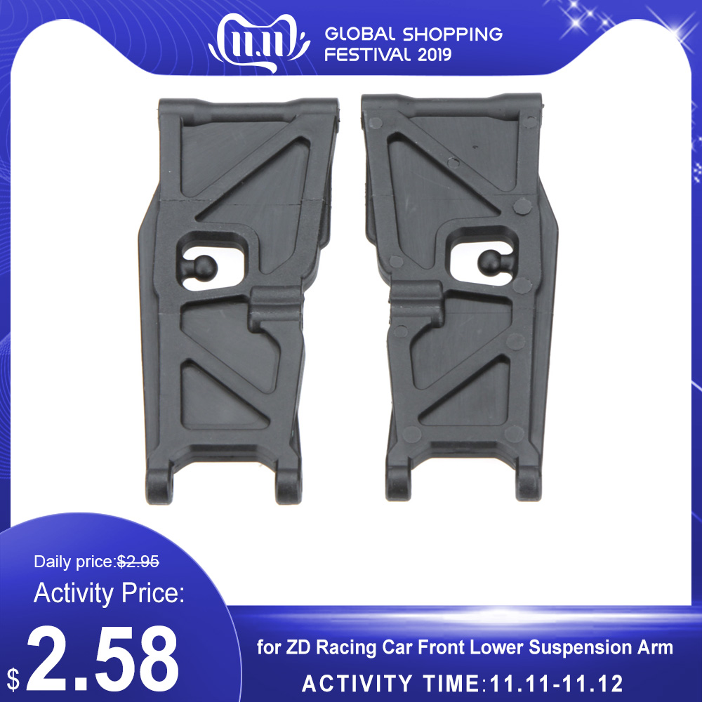 For ZD Racing Spare Part Front Lower Suspension Arm For ZD Racing 1/10 RC Off-Road Car Parts