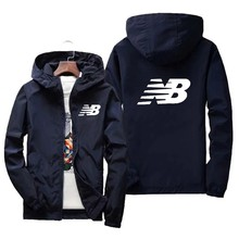 2021 marca de moda masculina e feminina nb casual hip-hop zíper jaqueta esportes jaqueta de beisebol fina