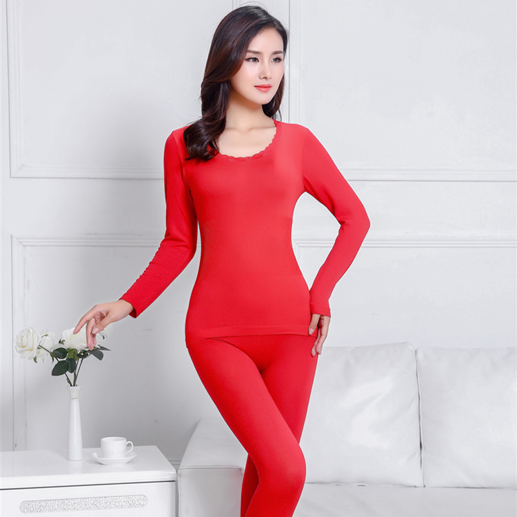 Hbfa90c21424f41fc8e72d88e7ee0f602T - Thermal Underwear set  Woman winter clothing Warm suit Long sleeve top Warm pants winter leggings Thermo underwear undershirt
