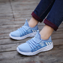 Liren 2019 Summer Fashion Casual Women Vulcanize Shoes Air Mesh Round Toe Lace-up Women Casual Comfortable Breathable Shoes недорого