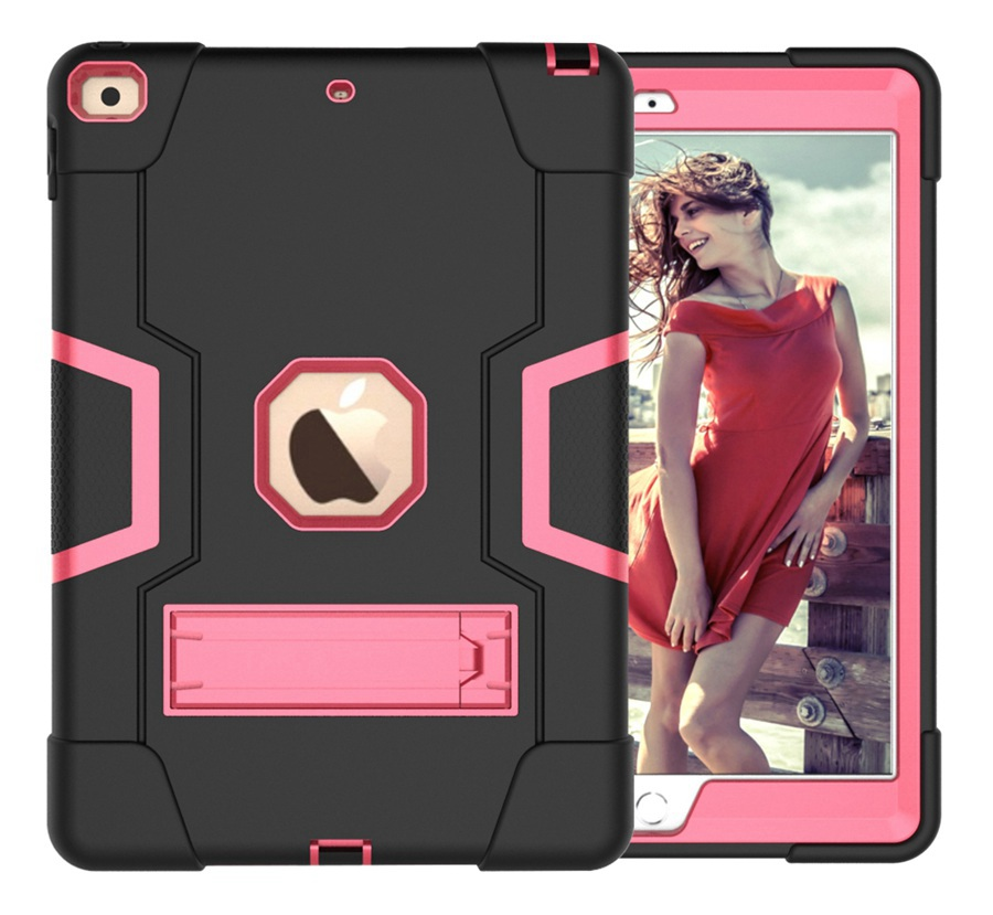 BR Gray Baby Safe Heavy Duty Silicone Case For Apple iPad 10 2 2020 iPad 7 8th Generation