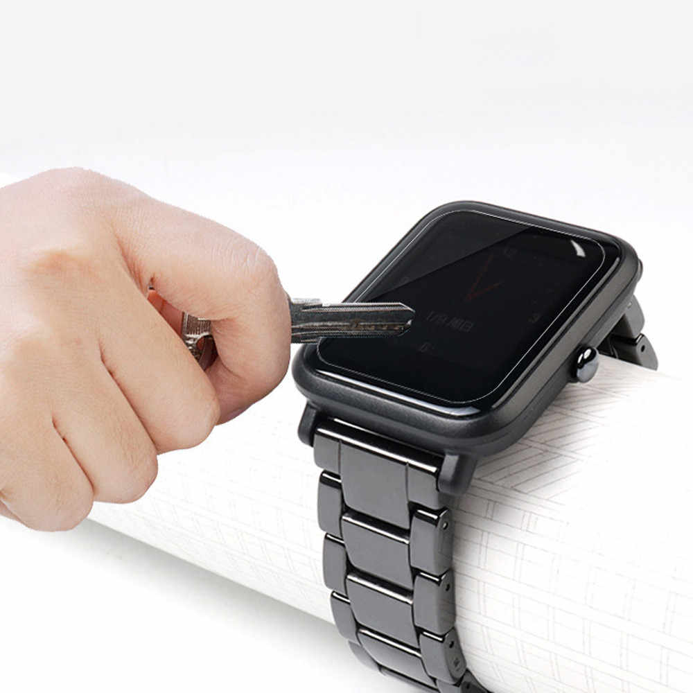 Ультратонкая защитная пленка Full HD ТПУ защитные пленки для Huami Amazfit Bip Youth Lite Смарт-часы аксессуары