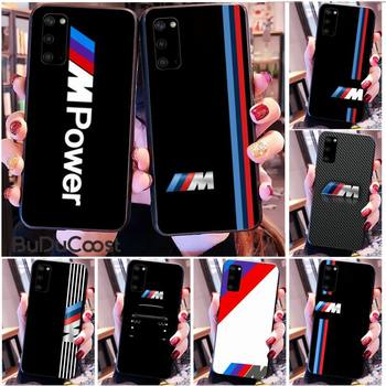 Riccu Top car BMW Phone Case for Samsung S20 plus Ultra S6 S7 edge S8 S9 plus S10 5G image
