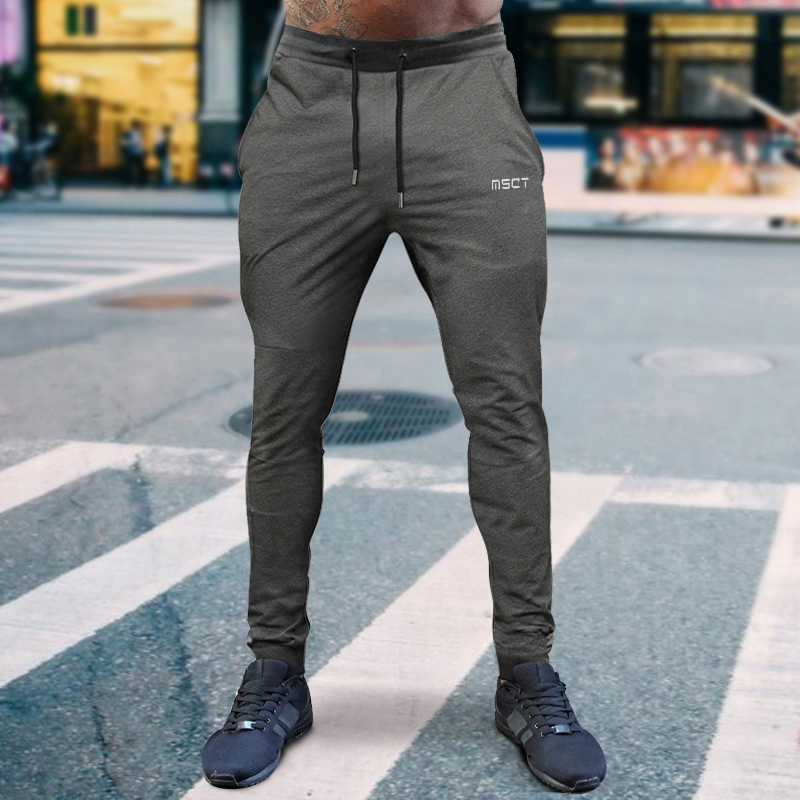 Men's Pants Autumn Winter Sweatpants Pencil Pants Casual Sports  Jogger Running Pant Windproof
