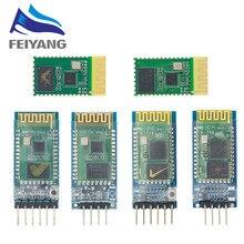 10 pces hc05 hc06 sem fio bluetooth transceptor escravo módulo conversor e adaptador