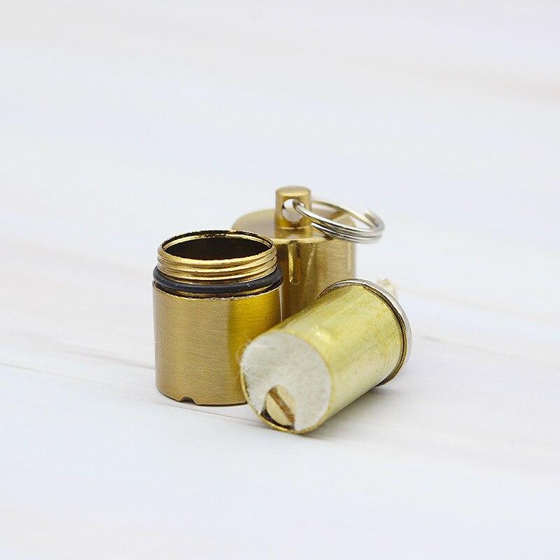 YOOAP Mini Pendant Kerosene Lighter Originality Pocket Metal Fuel Ma 39 am lighter keychain flip simple in Cigarette Accessories from Home amp Garden