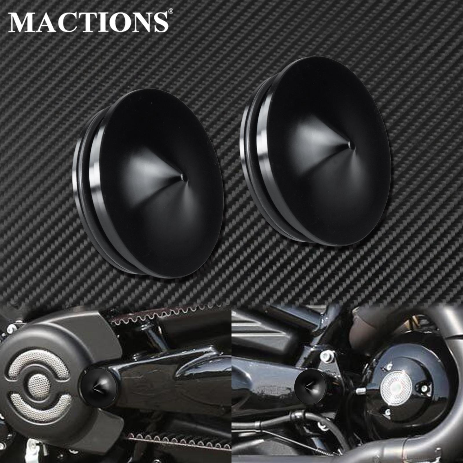 2xмотоциклетная маятниковая Накладка для болтов, алюминиевая черная для Harley V-Rod 2006-2017, ночная штанга, специальная мышечная VRSCF VRSCR VRSCD VRSCAW