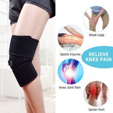 Outdoor Sports Kneepad Heating Knee Pad Thermal Therapy Arthritis Pain Relief Support