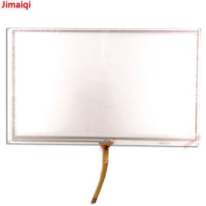 Image 2 - 8 inch 193mm*117mm 4 wire resistive touch screen panel for ZCR 1503B 3 FPC 0356 GPS touch screen digitizer panel replacement