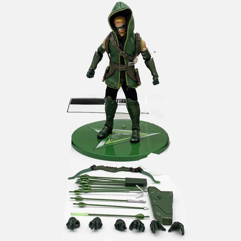 DC Comics Green Arrow One:12 PVC Action Figure Collectable Model Toys Gift Doll