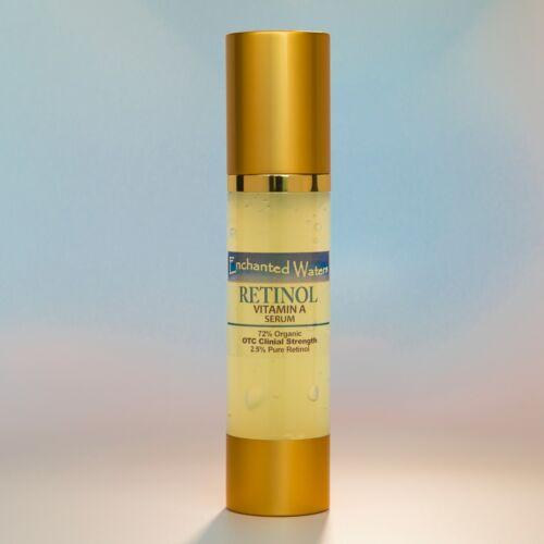 2oz de rétinol pur vitamine A 2.5% + acide hyaluronique ha-rétinol crème anti-rides/sérum 60ml soins de la peau