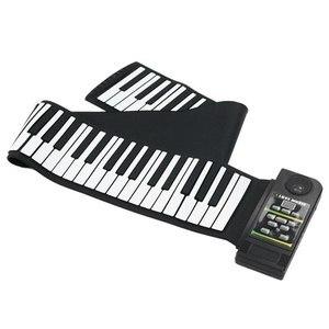 Image 5 - 88 teclas de silicone flexível mão enrolar piano macio portátil teclado eletrônico órgão música presente para crianças estudante